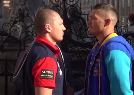 Усик— Гловацки: Сегодня украинец попробует выиграть титул чемпиона мира