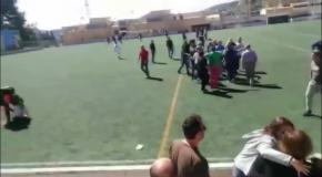 Футбольный матч завершился брутальной дракой родителей