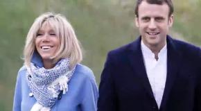 Macron's wife Brigitte looks much younger than her 64 years