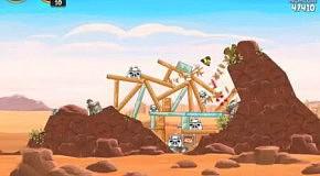 Прохождение Angry Birds: Star Wars 18 Tatooine