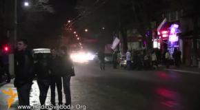 Пророссийские радикалы заблокировали машину спецпосланника ООН