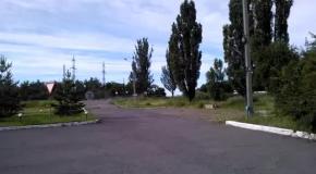 В сторону Славянска проехала колонна техники под флагами ДНР