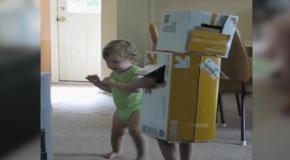 Робот и малыш