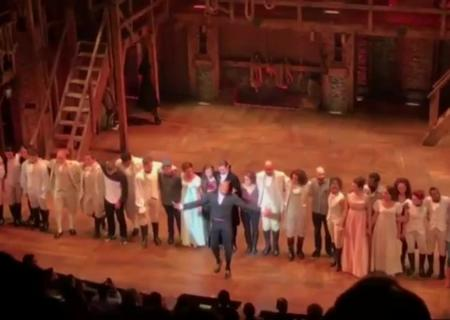 Зрители бродвейского хита «Гамильтон» «забукали» вице-президента США Пенса