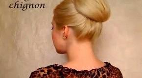 Элегантная вечерняя прическа для длинных волос
