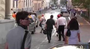 """В Москве разогнали """"Вечер памяти"""" у посольства Украины"""