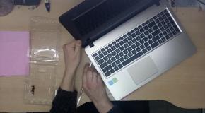 Замена hdd в ноутбуке Asus R540S