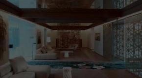 Зеркальные потолки в интерьере дома из профилированного бруса. Проектирование, строительство