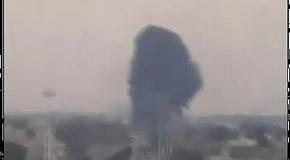 В небе над Бенгази сбит неопознанный истребитель
