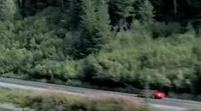 Шумахер в Mercedes SLS AMG смертельный трюк в тоннеле