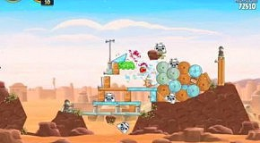 Прохождение Angry Birds: Star Wars 20 Tatooine