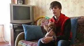 Киевский подросток вернул Путину часы, которые получил от него в подарок