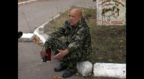 Москаль: Милиция позорно сбежала и бросила людей на растерзание ЛНР