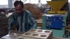 Минилиния производства грунтоблоков из грунта и сапропеля