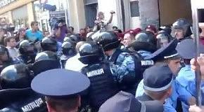 Полное видео вывоза Тимошенко из Печерского суда