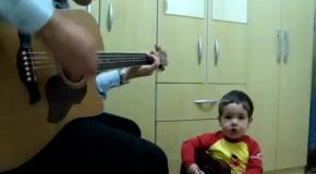 2-летний малыш перепел Битлз