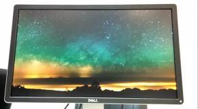 Dell P2214H - качество экрана на примере видео в Full HD