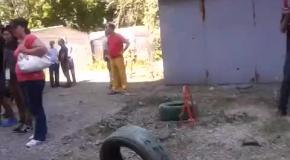 Донецк, 29.07: последствия обстрела жилого дома на улице Листопрокатчиков