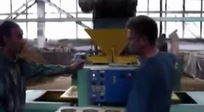 Производство грунтоблоков с сапропелевым связующим