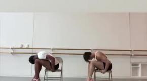 Мужчины-танцоры учатся двигаться на каблуках, как женщины