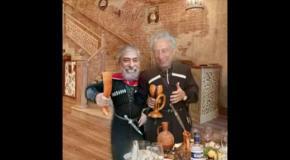 Пародия - поздравление от Вахтанга Кикабидзе