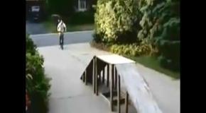 Жестокие падения с велосипедов