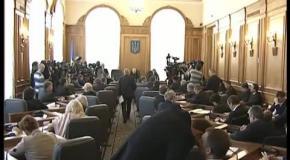 Олег Тягнибок про найнагальніші законодавчі ініціятиви. Погоджувальна рада