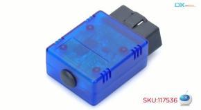 ELM327 OBD2 OBDII Bluetooth диагностический инструмент для авто (DC 12В)-dealextreme