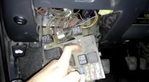 Установка обогрева сидений в ВАЗ 2110-2112  (ЧАСТЬ 2)  Подключение проводки