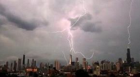 Молния в Чикаго