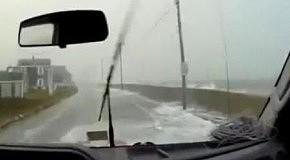 Кайтсерфинг во время урагана Сэнди