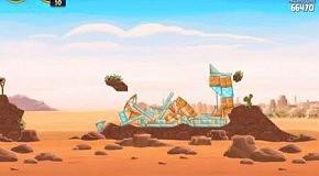Прохождение Angry Birds: Star Wars 23 Tatooine