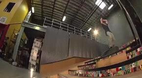 Первое в мире сальто со скейта на скейт