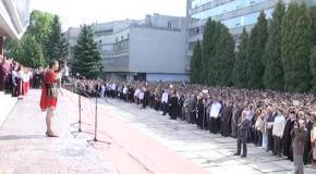 Ірина Фаріон привітала студентів Львівської політехніки з початком навчального року