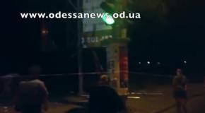 Взрыв в Одессе 12.06.2015