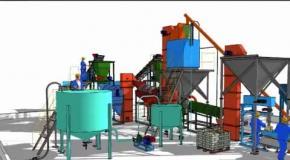 Производство кормовой добавки из сапропеля и мела
