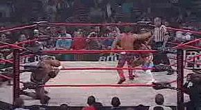 hes  Bound For Glory 2007  Team Pacman vs  AJ Styles   Tomko