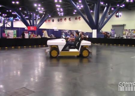NASA презентовало автомобиль для передвижения на Марсе