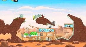 Прохождение Angry Birds: Star Wars 24 Tatooine