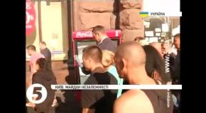 Мэр Кличко пообщался с активистами на Майдане