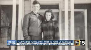 Невероятная история любви, 70 лет вместе
