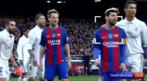 Роналду и Месси переговаривались во время матча Барселона - Реал