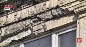 Шокуюча кількість львівських балконів перебуває в аварійному стані