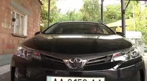 Журналисты показали элитные авто украинских чиновников