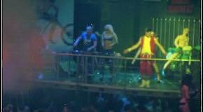 Topless DJ Show Need for Speed project @ DJ Forsage & Topless DJ Aurika in Delerium club