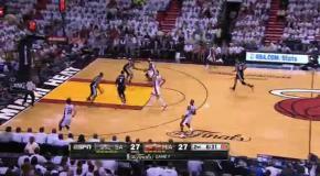Леброн Джеймс в 7-м матче финала НБА 2013