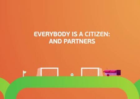 УЕФА представил знак ислоган чемпионата Европы пофутболу 2020 года