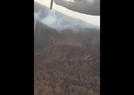 ВГСЧС показали, как украинские самолеты гасят пожары вИзраиле— Помощь подоспела