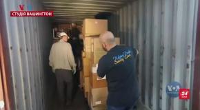 Голос Америки: До України надійшла партія допомоги зі США та Канади