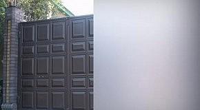 Распашные филенчатые ворота КАСКАДЪ